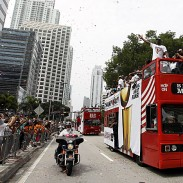 MIAMI HEAT PARADE 2012!! (Photos) On The Streets & Behind The Scenes!