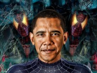 obama spiderman1