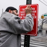 Street Signs Quoting Famous RAP Lyrics!! (PHOTOS) Big L, Nas, Kanye, Jay Z, Mos Def, Guru etc. #BRILLIANT