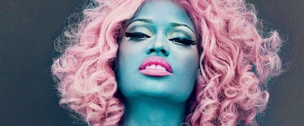 nicki minaj vogue blue