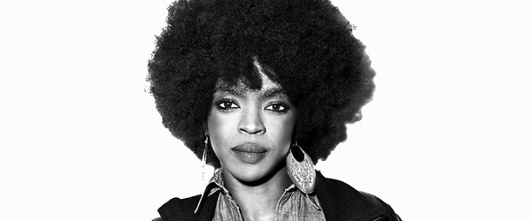 lauryn hill white background